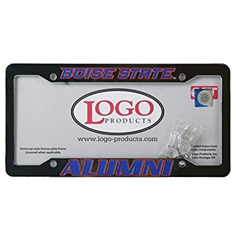 Boise State Broncos Alumni Chrome Plastic License Plate Frame by Logo Products