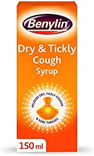 Benylin Dry and Tickly Cough Syrup, Targeted Relief for Your Cough, Cough Medicine for Adults and Children, 15