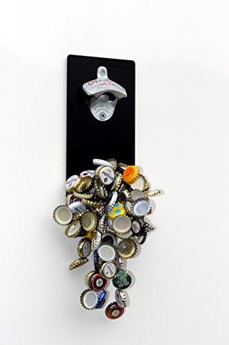 Magnet-Wand-Flaschenöffner/Bier-Flaschen-Öffner mit Magnet-Fang/Magnetfalle + Pint-Bierglas-Schild