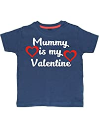 Edward Sinclair Mummy Is My Valentine Children's Valentines Day T-Shirt
