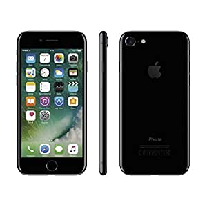 "Apple iPhone 7 Smartphone  4G (Display: 4,7"" - 128 GB - iOS 10) Nero (Jet Black) [Italia]"