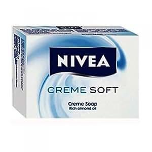 Nivea Creme Soft Soap, 75g (Pack of 3)