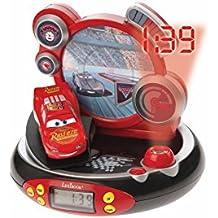 Lexibook RP500DC Cars - Radio despertador con proyector