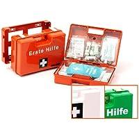 Verbandskoffer/Erste Hilfe Koffer mit Füllung nach DIN 13157 mit Wandhalterung preisvergleich bei billige-tabletten.eu