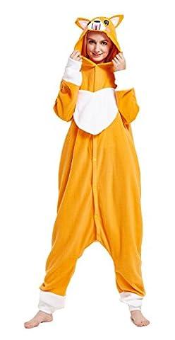Rilakkuma Costume Pajama - iPerry Pyjamas Combinaison Adultes Unisexe Onesie Animal