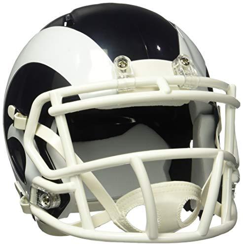 NFL Los Angeles Rams Speed Mini Replica Helm, Weiß, Größe M