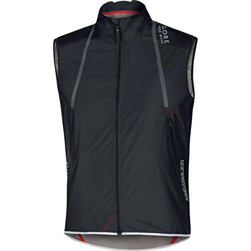 GORE BIKE WEAR OXYGEN WINDSTOPPER ACTIVE SHELL LIGHT   CHALECO PARA HOMBRE  COLOR NEGRO  TALLA L