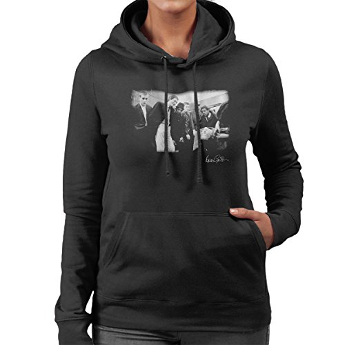 Brian Griffin Official Photography - The Specials Jerry Dammers Barbershop Women's Hooded Sweatshirt (Aka Sweatshirt)