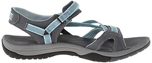 Merrell Azura Strap, Chaussures Aquatiques Femme Gris