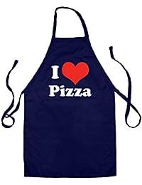 I Love Pizza - Unisex Tablier pour enfant - 4 couleurs
