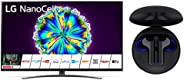 "LG NanoCell 55NANO866NA.AEUD, Smart TV 4K Ultra HD 55"" con Cuffie Bluetooth Wireless TONE Free FN6"