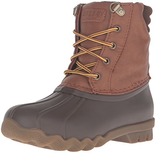 Sperry Avenue Duck Boot Wasserdichtes Gummi Jungen, Brown, 31 EU - Sperries Jungen