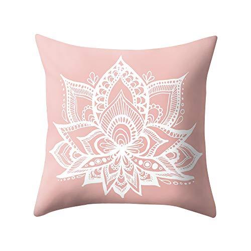 ABsoar Kissenbezuge Weihnachten Kissenhülle Dekokissen Throw Pillow Covers Bettwäsche Für Autos Sofakissen Startseite Dekorative Weihnachten Sofa Bett Home Decor, Rose Gold Pink -