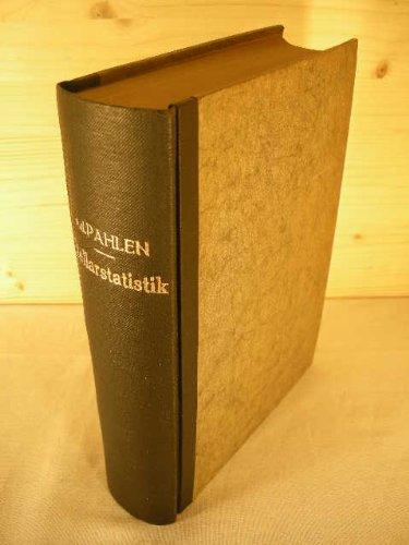 Lehrbuch der Stellarstatistik.