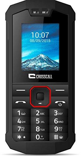 Crosscall Spider-X1 Téléphone portable débloqué 3G+ (Ecran: 1,77 pouces - 32 Go ROM - Dual SIM) Noir