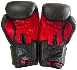 Le Buckle Leather Tournament Gloves (12 oz)