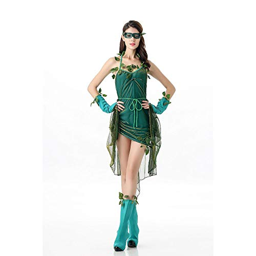 LVLUOYE Bühnenkümpfe, Waldelfen Rollenspiele Uniformen, Halloween Party Cos Anime Kostüme, Kostüme
