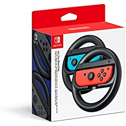 pack mario kart 8 deluxe paire de volants joy con pour nintendo switch jeux vid o. Black Bedroom Furniture Sets. Home Design Ideas