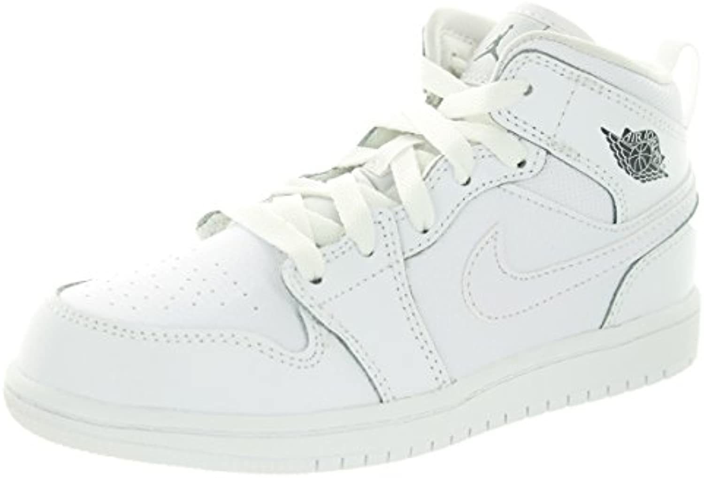 Jordan Nike Kids 1 Mid BP Basketball Schuh