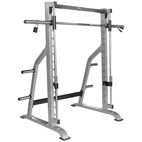 TrainHard Smith Machine Rack Multipresse mit Olympia Langhantelstange