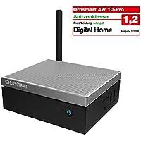 """Orbsmart AW-10 Pro 4K Mini PC Windows 10 Pro Desktop PC/Computer (Intel Gemini Lake J4105 CPU, 4GB DDR4-RAM, 64GB int. Speicher, 2.5"""" Festplattenschacht, HDMI 2.0, USB 3.1 Typ-C)"""