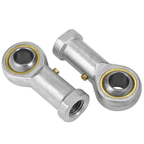 ZCHXD PHS10, Rod End Bearing, 10mm Bore Carbon Steel Economy Female Right Hand 2pcs -