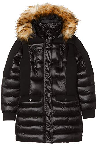 KAPORAL Tamo Abrigo, Negro Black G62, 12 años Talla del Fabricante: 12A para Niñas