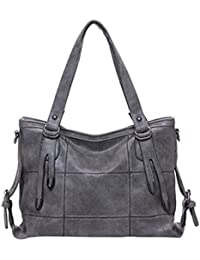 Bolsos Mujer bolsos mujer Plaid diseñador de bolsos de cuero grande Bolso Casual señoras bolso mujer