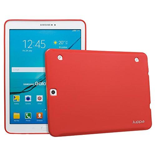 JUPPA ® SAMSUNG TAB, S2, 8,0, 9,7 GEL TPU CASE Blu blu Sam Galaxy Tab S2 9.7 Rosso - rosso