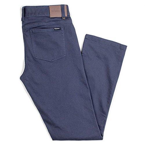 Brixton Reserve 5Tasca Pantaloni blu abbigliamento/pantaloni, Blue, 30