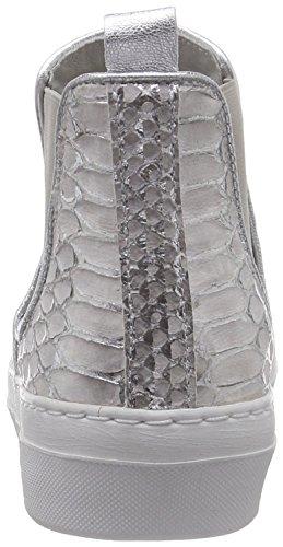 Ca'Shott 13004, Baskets hautes femme Argent - Silber (Erotica Silver 266)