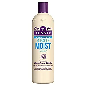 Aussie Miracle Moist Conditioner for Dry, Really Thirsty Hair, 400 ml