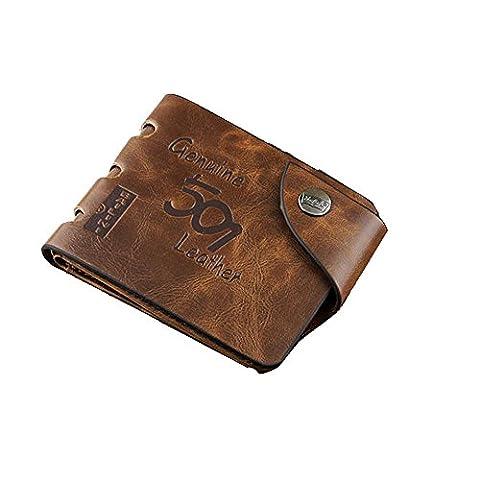 Porte Monnaie Longchamp - ILOVEDIY RFID Petit Portefeuille en Cuir de