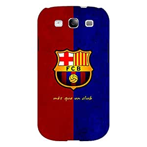 Jugaaduu Barcelona Back Cover Case For Samsung Galaxy S3 Neo GT- I9300I