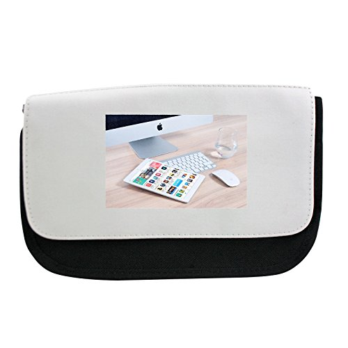 Preisvergleich Produktbild Pencil case with Imac, Apple, Mockup, App, Ipad, Mouse