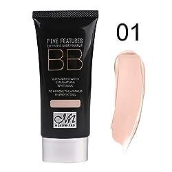 BB Cream Perfect Cover Concealer Foundation Moisturizer Brightening Sun Block Nude Naked Natural Liquid Base Korean Cosmetics