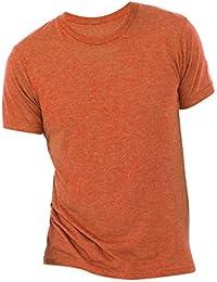 Canvas - Camiseta básice con cuelloredondo de manga corta ajustada en el Bicep para hombre -