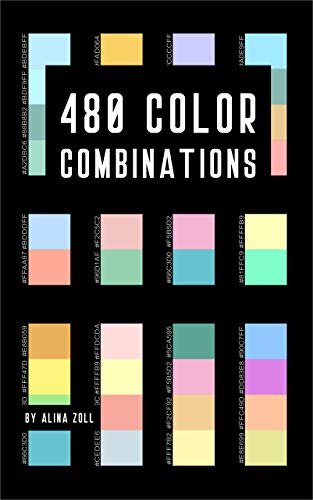 480 Color Combinations: Reference Book for Artists, Graphic ...