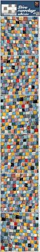 Plage 260554 Smooth - Tiles Fliesen sticker Mosaik, 6 Bogen, Vinyl, bunt, 15 x 0,1 x 15 cm - Mosaik Vinyl