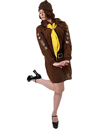 Costume Ragazza Scout Brownie Medium