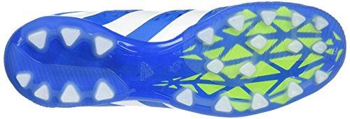 adidas Ace 16.1 AG, Chaussures de Tennis Homme Bleu (Shock Blue/Semi Solar Slime/Ftwr White)