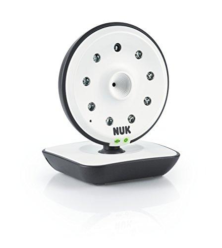 Nuk 10256464 Einzelkamera für Das Eco Control Video Display 550vd Digitales Babyphone, 1 Stück, mehrfarbig