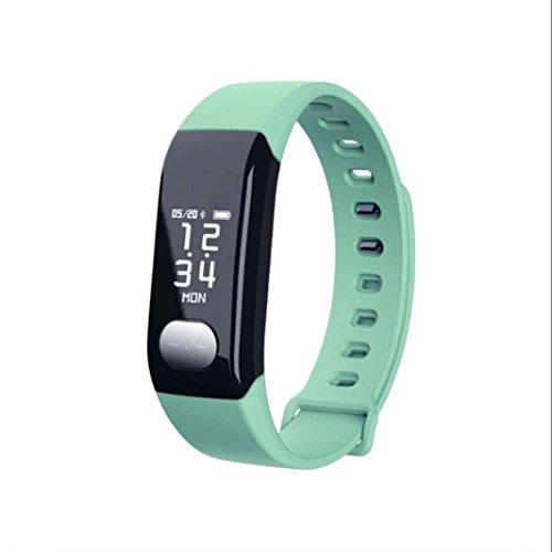 Fitness Tracker Herzfrequenz Fitness Armband Aktivität Tracker Smart Armband mit Schrittzähler Pulsuhren Schlafmonitor Kalorienzähler Call Benachrichtigung Push Fitness uhr für Smartphones mit Android iOS System
