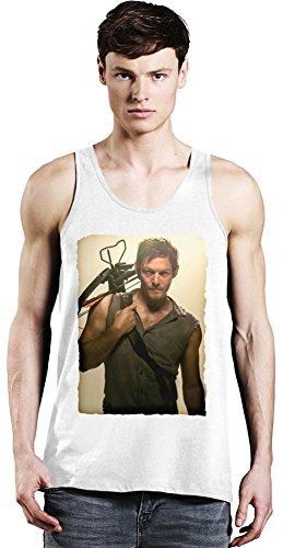 Movie Stars Merchandise Norman Reedus Archer - Norman Reedus Archer Unisex Tank Top T-Shirt Men Women Stylish Fashion Fit Custom Apparel by Large