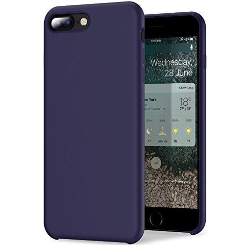 Funda iPhone 7 / 7 Plus, Teryei® Silicona Suave Case Full protección Anti-Golpes Rasguño y Resistente [Ultra Slim ] Anti-Estático Choque Bumper pour iPhone 7 / 7 Plus (Púrpura, iPhone 7 Plus)