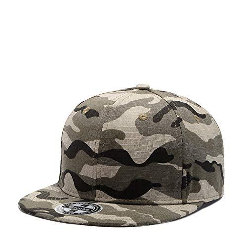 Hüte Dekorationen Fischerhutneue Baseballmütze Camouflage Euro-American Hip-Hop-Hut Männlich, Einstellbar, W140 Farbtarnung
