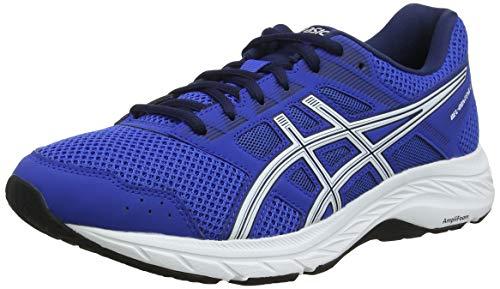 Asics Gel-Contend 5, Zapatillas de Running para Hombre, Azul (Imperial/White 400), 44 EU