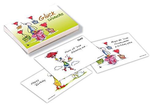 Preisvergleich Produktbild Glück-Wünsche: Oups Kärtchenbox