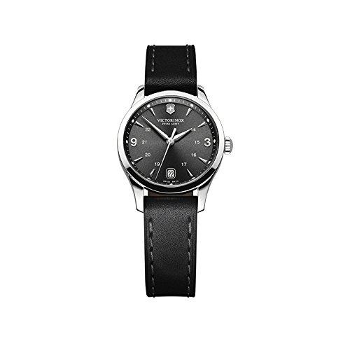 Victorinox Swiss Army Damen-Armbanduhr XS Classic Alliance Analog Quarz Leder 241542