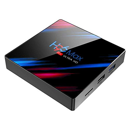 Byttron Android 9.0 TV Box Smart Media Box 4GB RAM 32GB ROM RK3318 Quad Core Bluetooth 4.2 WIFI 2.4G & 5G Ethernet 1USB 3.0 & 1USB 2.0 Set Top Box Support 4K Ultra HD Internet Video Player